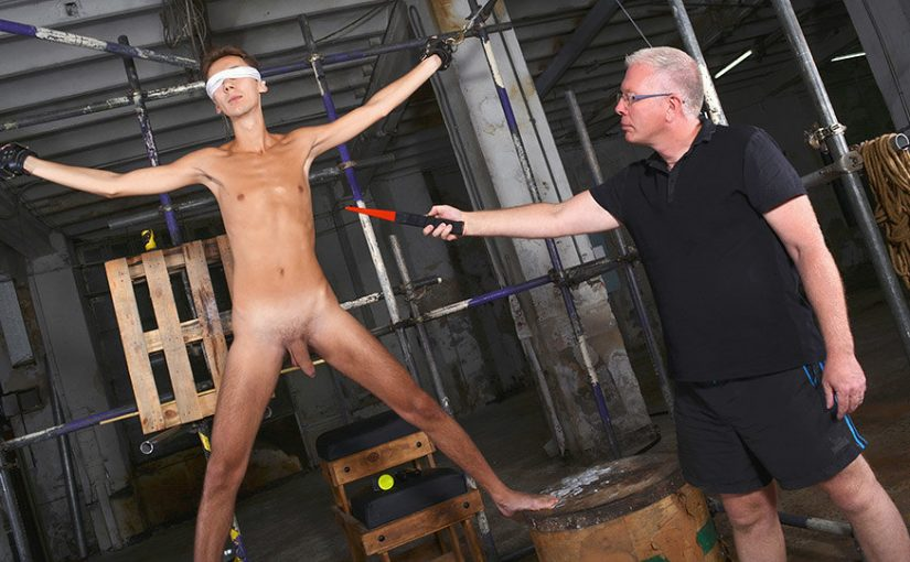 A Slim & Hung New Twink Arrival Part 1